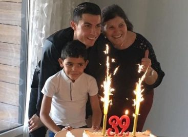Cristiano Ronaldo celebrates 32nd birthday with mum and son after Real Madrid game postponed