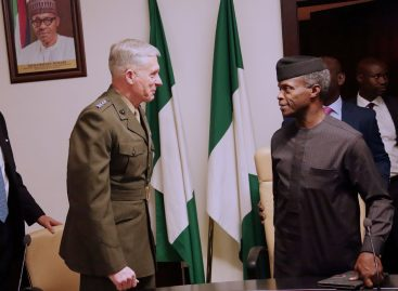 Osinbajo receives US-Africa Command team