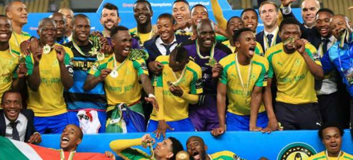 Mamelodi Sundowns win African Super Cup