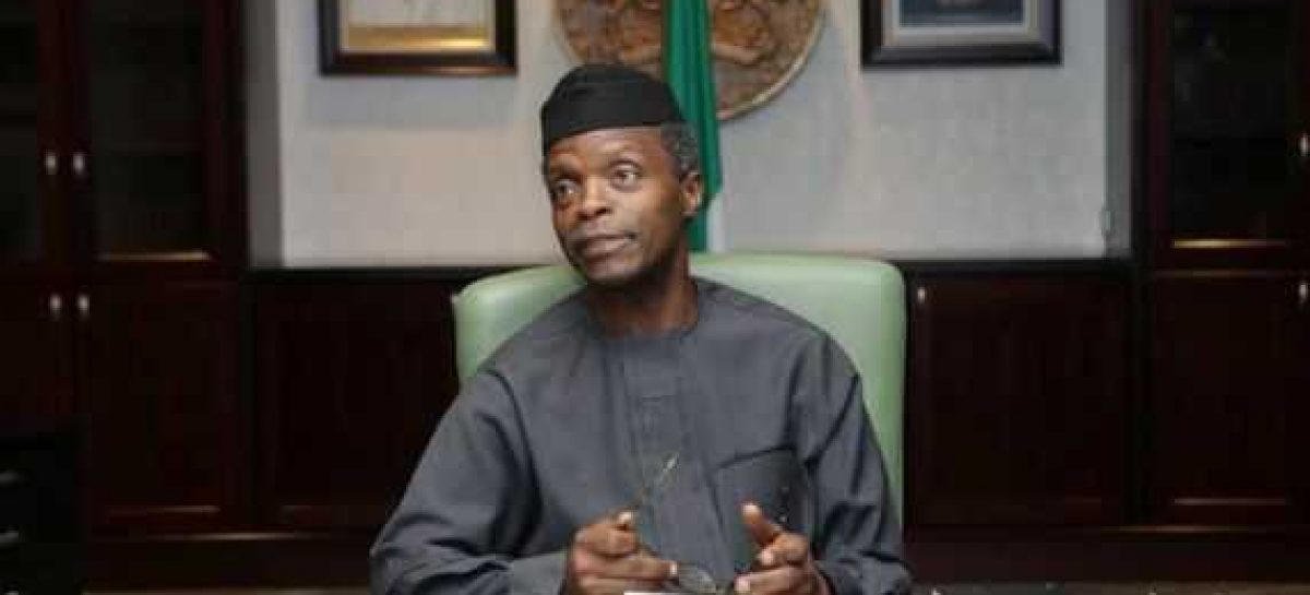 Nigeria needs people with strong character – Osinbajo