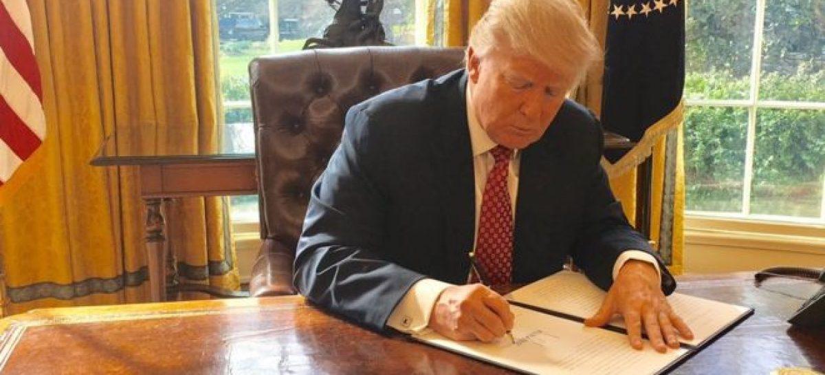 Trump signs new travel-ban directive