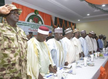 Yobe develops post-insurgency recovery, reconstruction masterplan