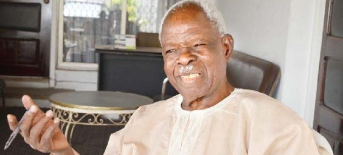 Former governor of old western region, Adeyinka Adebayo, dies at 89