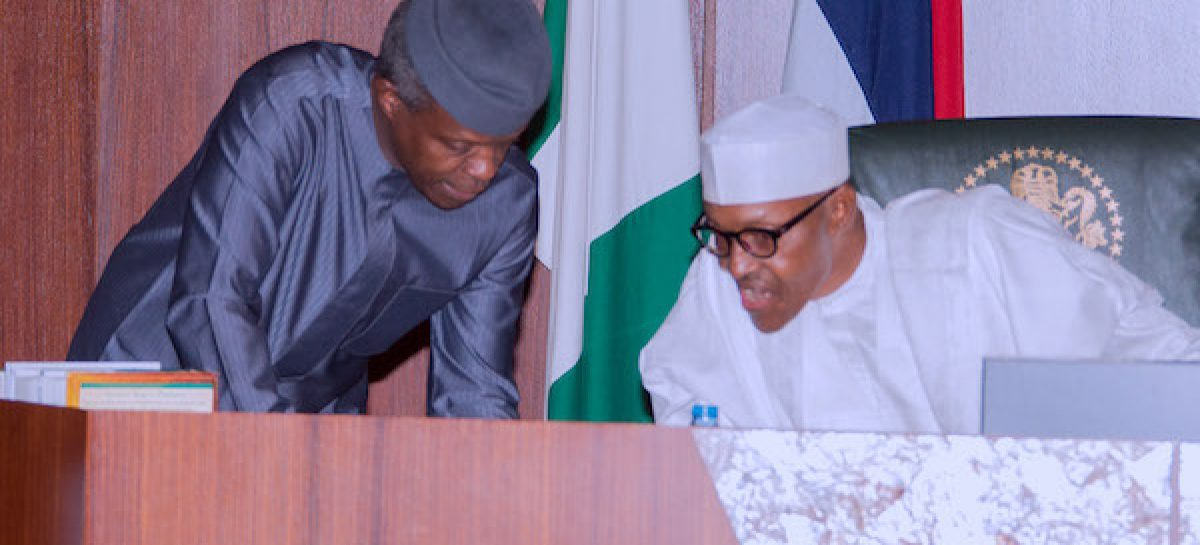 Buhari appoints Osinbajo, others as heads of some agencies