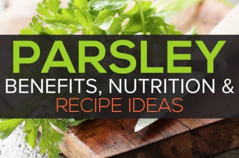 Parsley benefits and nutrition