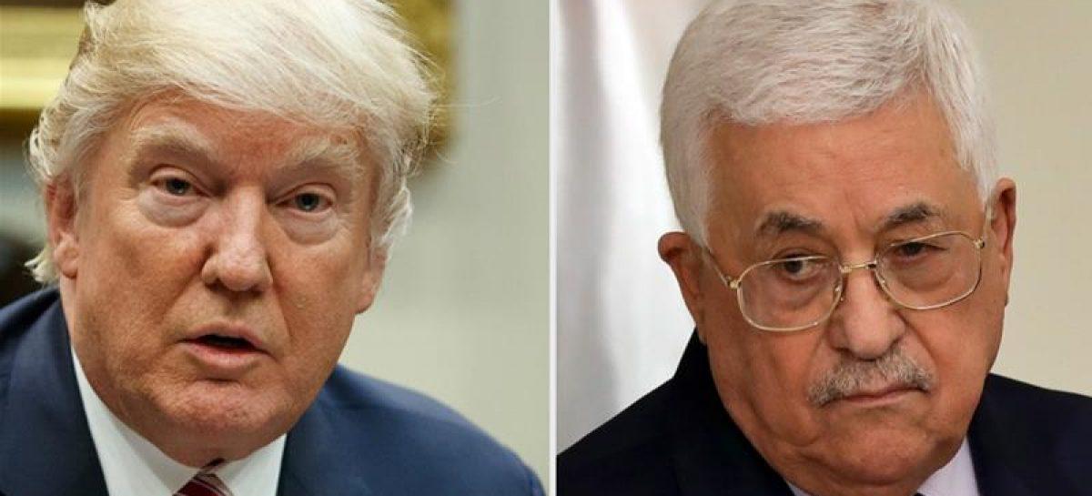 Donald Trump invites Mahmoud Abbas to White House