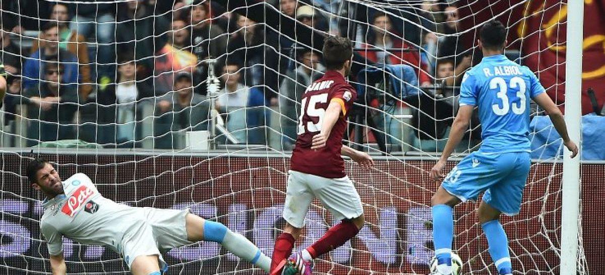 Italian Serie A results for Saturday