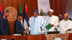 President Buhari on Wednesday, April 5, 2017, formally launched the Nigerian Economic Recovery and Growth Plan (ERGP) at the State House in Abuja.