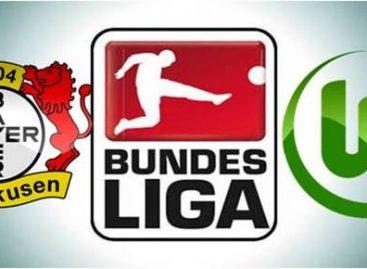 German Bundesliga results for Sunday
