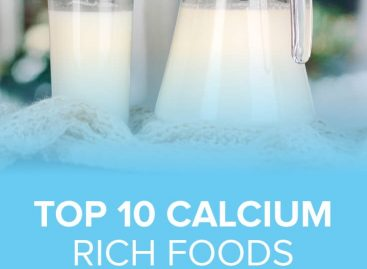 Top 10 calcium rich foods