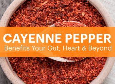 Cayenne  pepper benefits your gut, heart & beyond