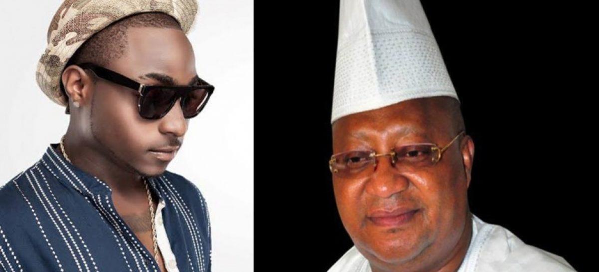 Davido mourns uncle, Senator Isiaka Adeleke
