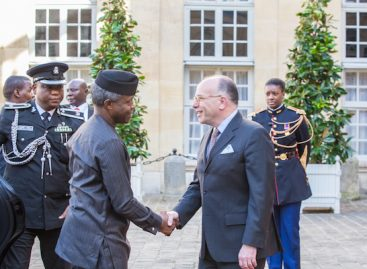 As acting president, Osinbajo relaunched Nigerian economy – French PM