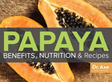 Papaya benefits, nutrition & recipes