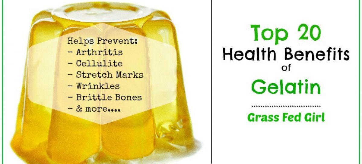 Top 20 Health Benefits of Gelatin