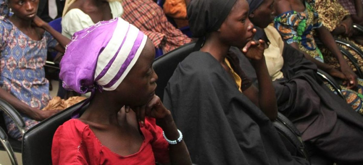 Presidency confirms swapping 82 Chibok girls with Boko Haram inmates