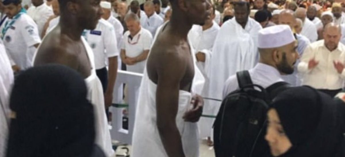 Pogba goes to Mecca for Umrah