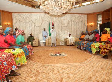 Chibok girls' return worthy anniversary gift – Buhari