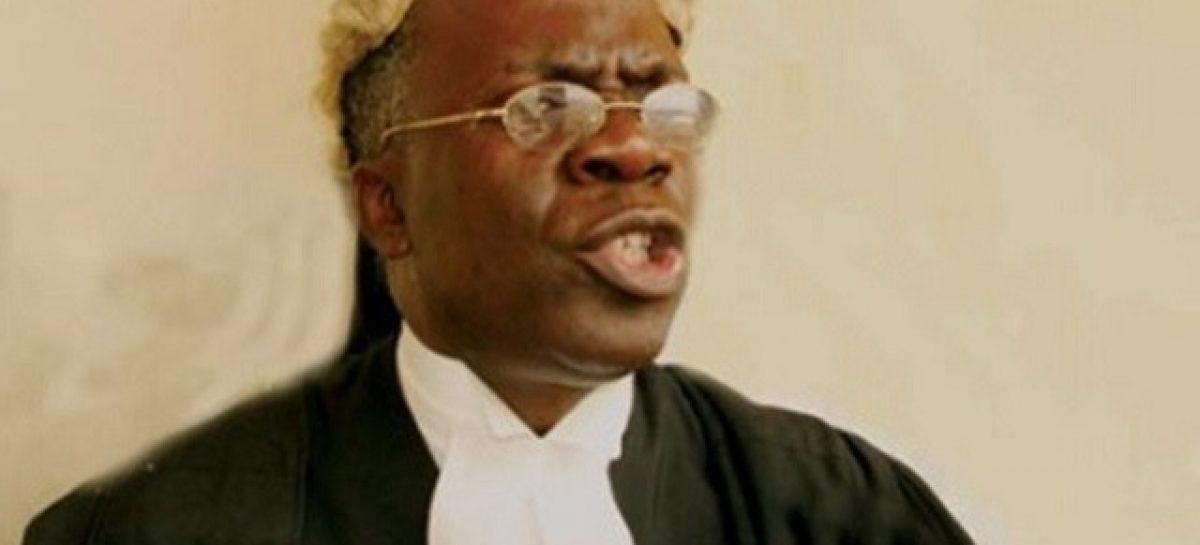 Buhari cant sign budget, Osinbajo shouldn't sign – Falana