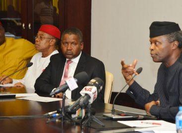 Osinbajo inaugurates industrial policy, competitiveness advisory council