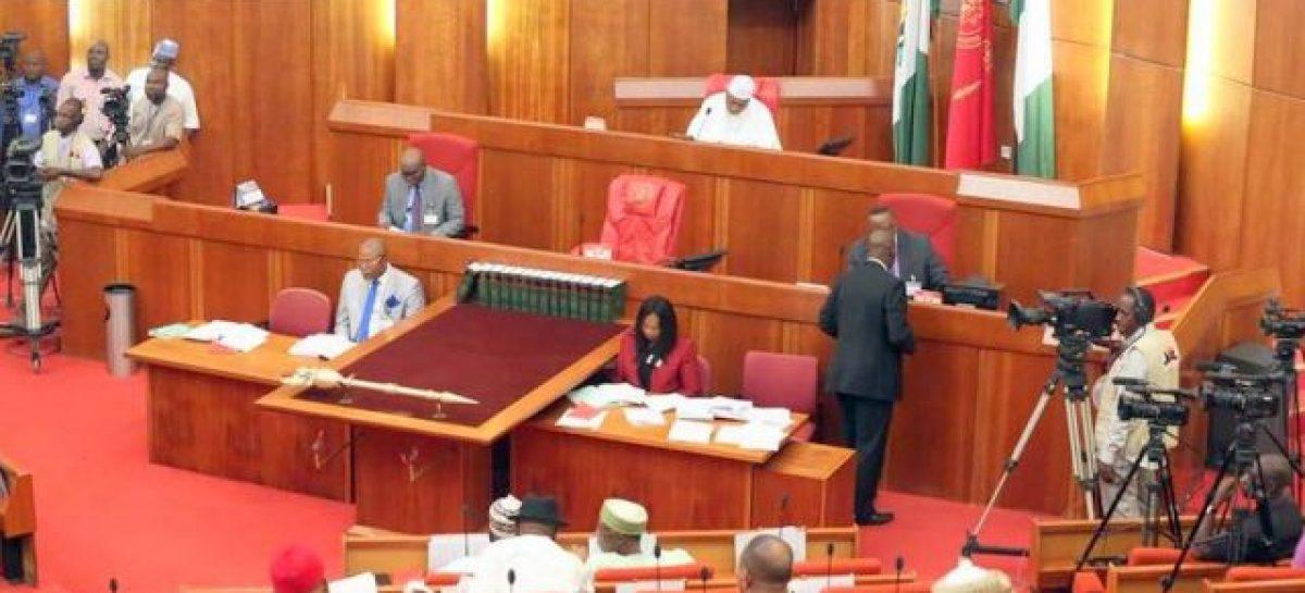 Senate celebrates end of recession