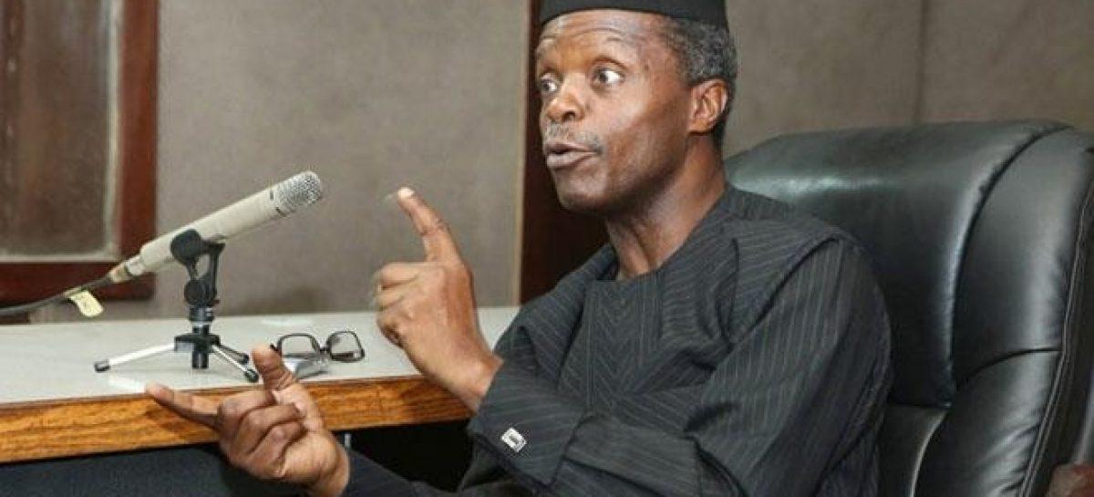 Invest in Nigeria now or regret in the nearest future – Osinbajo