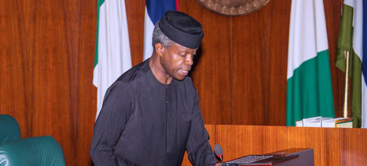 Nigerian govt to treat hate speech as terrorism – Osinbajo
