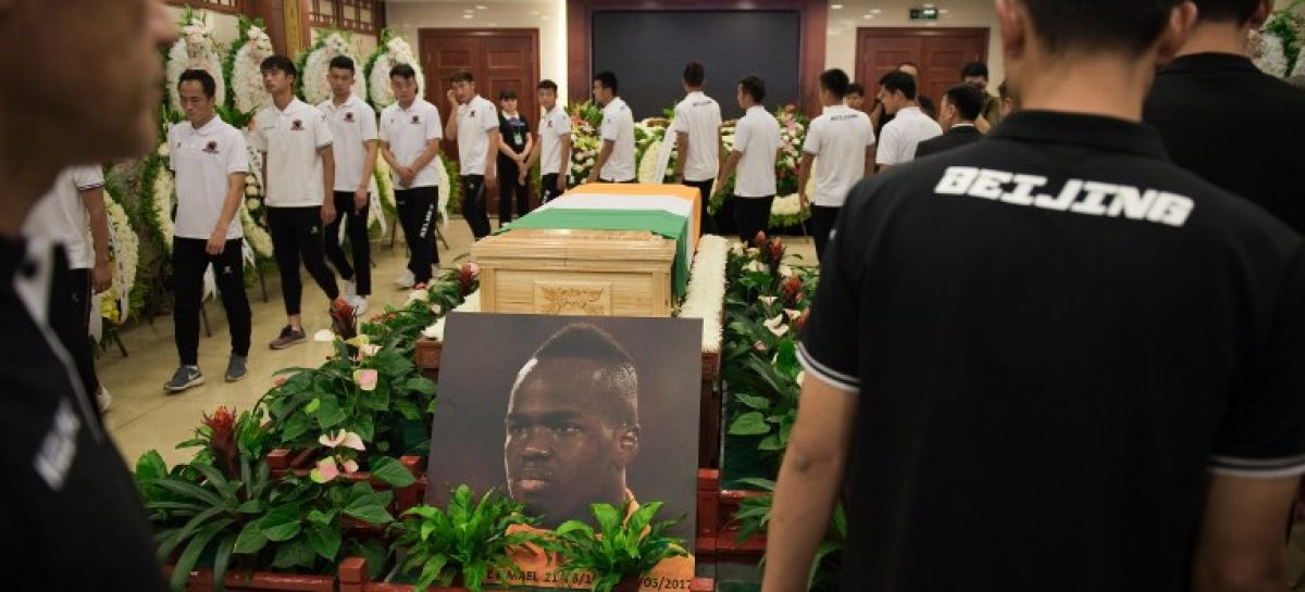 Beijing Club pays last respect to Late Tiote