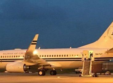 Presidency gives reasons for parking NAF 001 Jet in London