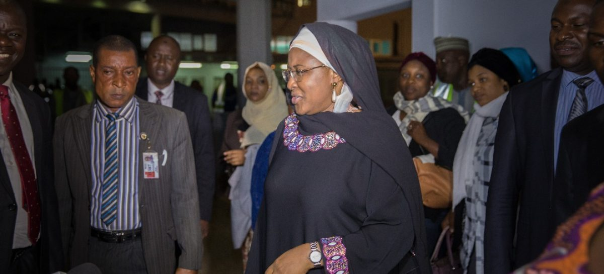 Buhari is recuperating fast, says wife