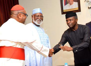 Osinbajo in close-door meeting with Abdulsalami peace committee