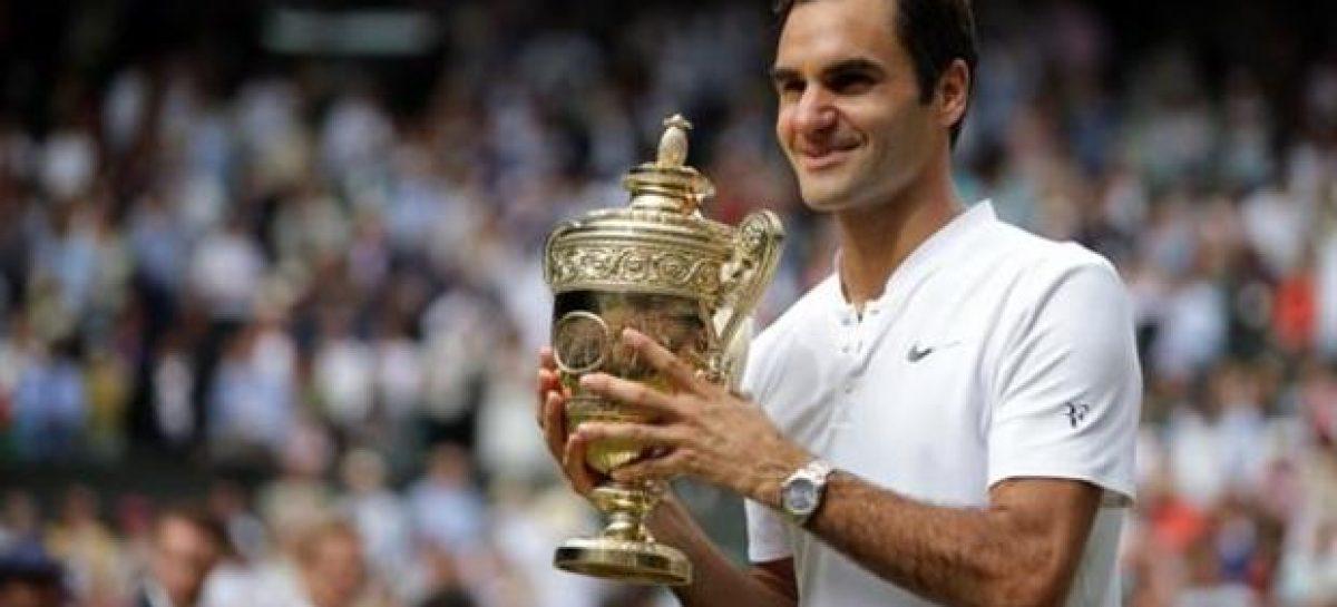 Federer wins 8th Wimbledon title