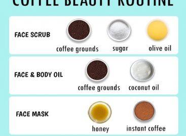 Best beauty tips using coffee