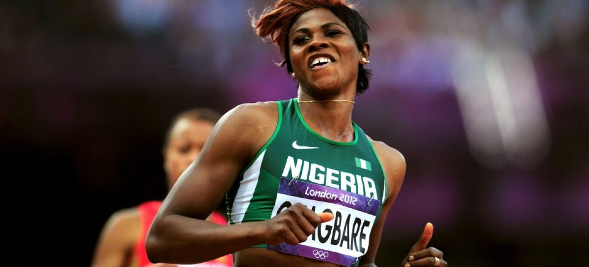Okagbare shines at London event