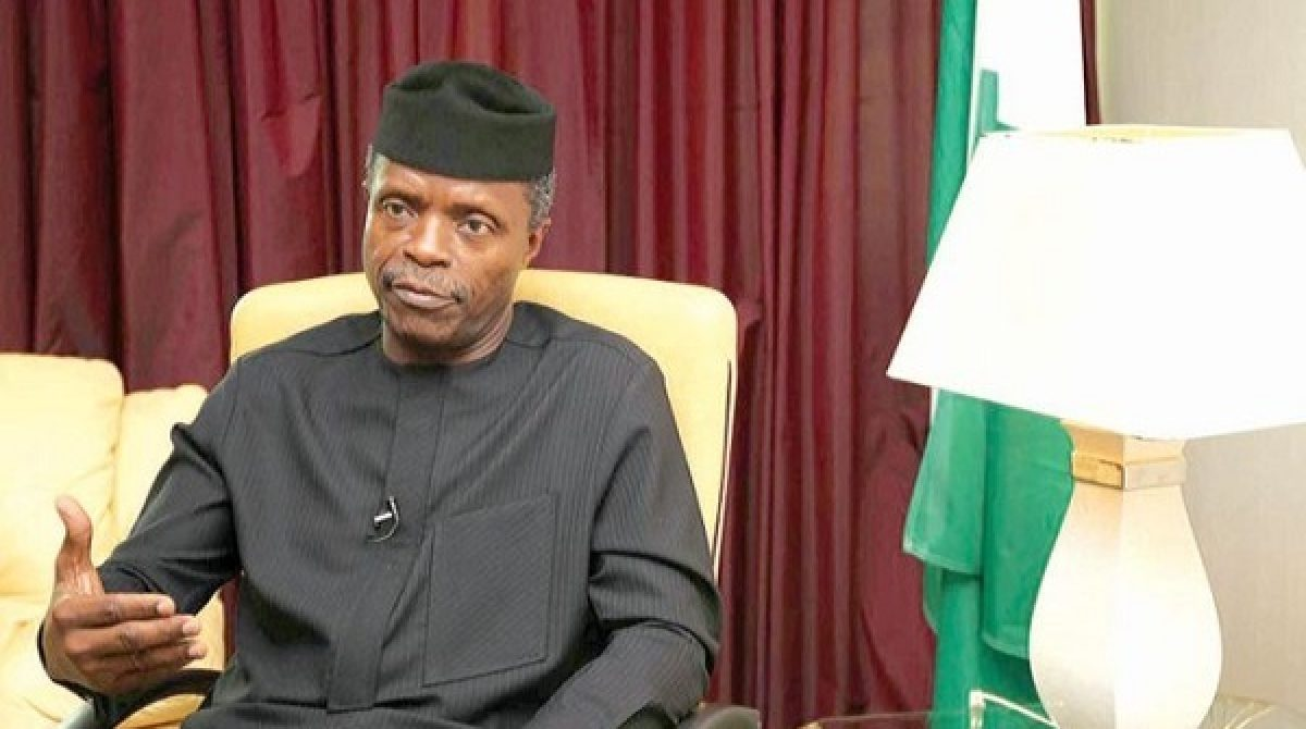 Why Nigerian govt is focusing on agriculture, manufacturing, diversifying economy, by Osinbajo