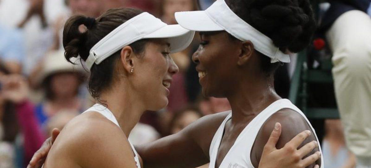 Muguruza stuns Venus Williams to win Wimbledon Open