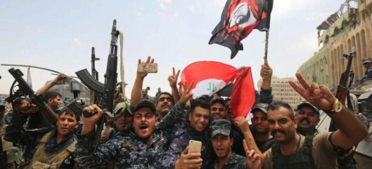 Iraq celebrates ISIS defeat in Mosul
