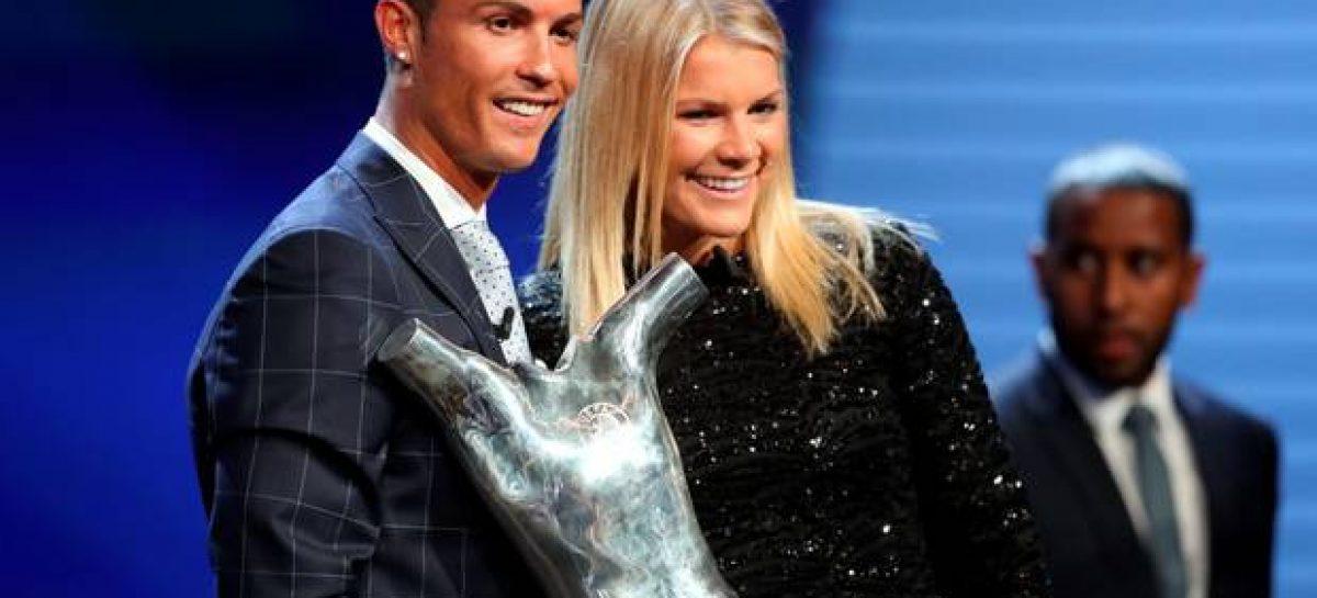 Ronaldo named UEFA Player of the Year