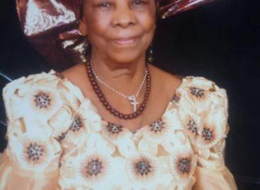 Ezinne Cecelia Orieji Okorafor for burial August 11