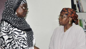 Aisha Buhari condoles with Sierra Leone over landslide