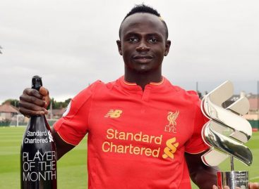 Mane wins Premier League Player of the Month award