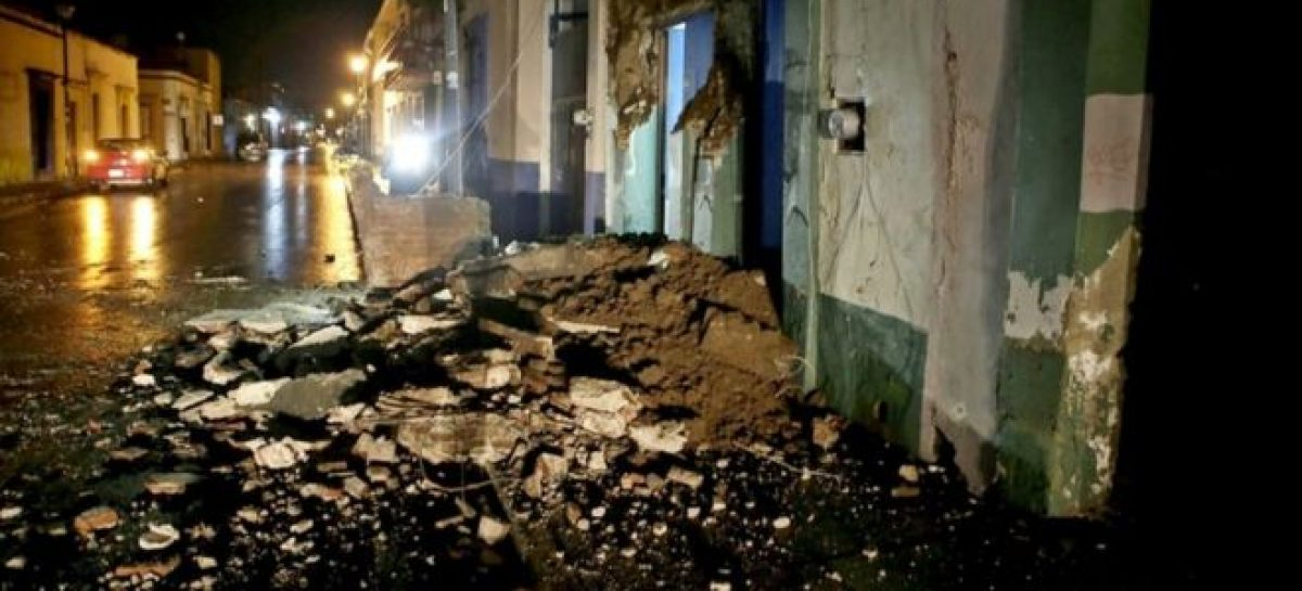 Strongest earthquake hits Mexico