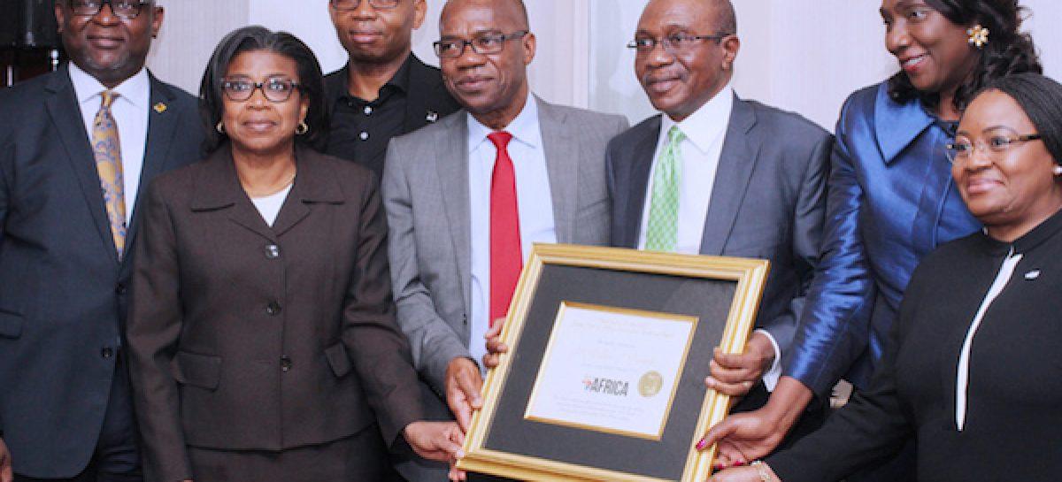 Emefiele bags Forbes award, woos investors to Nigeria