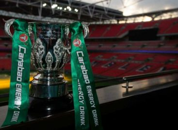 Carabao Cup results for Tuesday