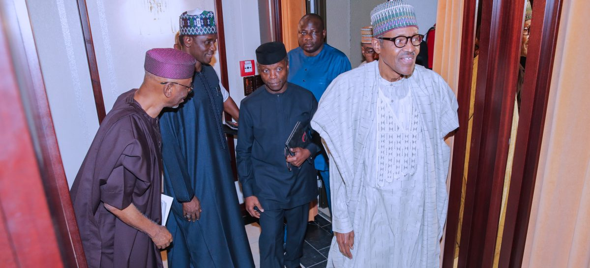APC leaders pass vote of convince on Oyegun, others