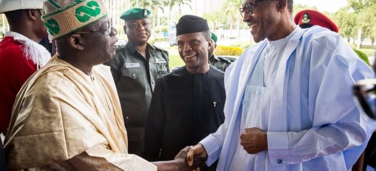 Buhari didn't sideline me – Tinubu