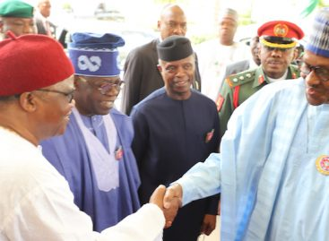 Tinubu hails Buhari over rejection of tenure elongation for Oyegun, others
