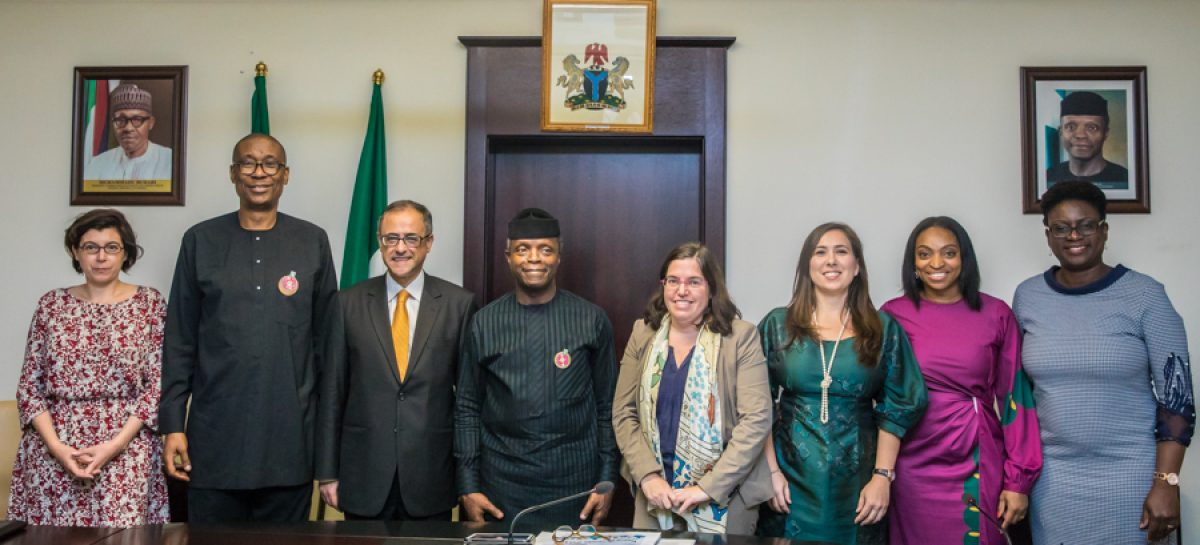 Osinbajo receives World Bank report on Ease  of Doing Business