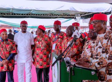 Speech delivered by President Buhari at Abakiliki Township Stadium, Ebonyi (CIVIC reception)