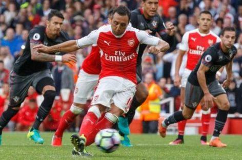 Arsenal star, Cazorla, suffers injury setback